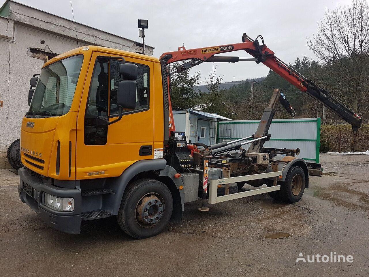 IVECO  ML120E18 camión con gancho