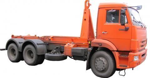KAMAZ KO-452-13  camión con gancho