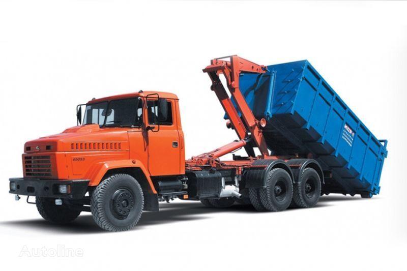 KRAZ 65053 MPR-1  camión con gancho