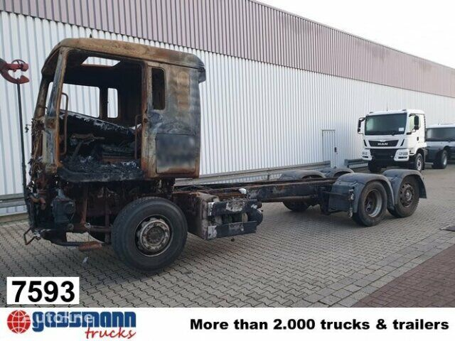 MAN TGA 26.440 6x2 BL Brandschaden TGA 26.440 6x2 BL Brandschaden camión con gancho