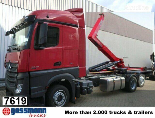 MERCEDES-BENZ Actros 2545L camión con gancho nuevo