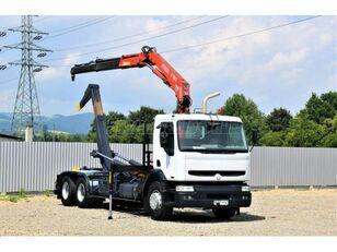 RENAULT Kerax 370  camión con gancho