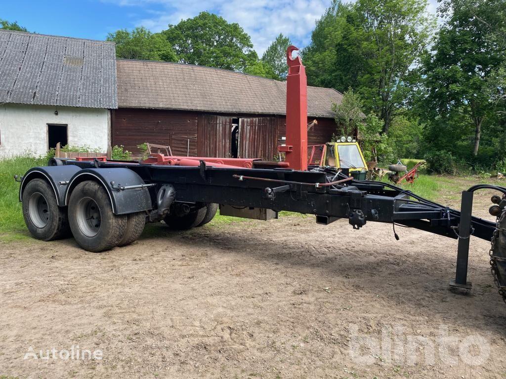 SCANIA Lastväxlartrailer camión con gancho
