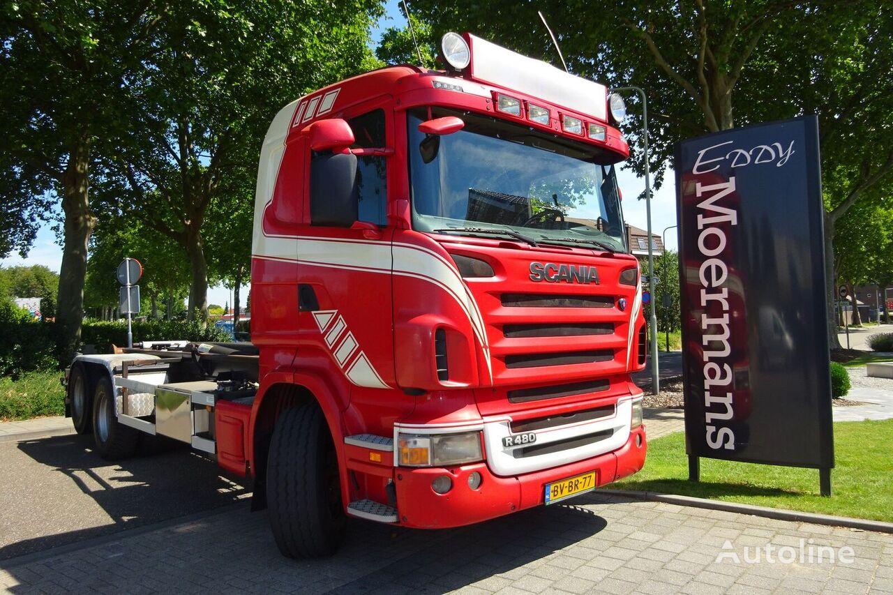 SCANIA R480 Cr 19 6x2 camión con gancho