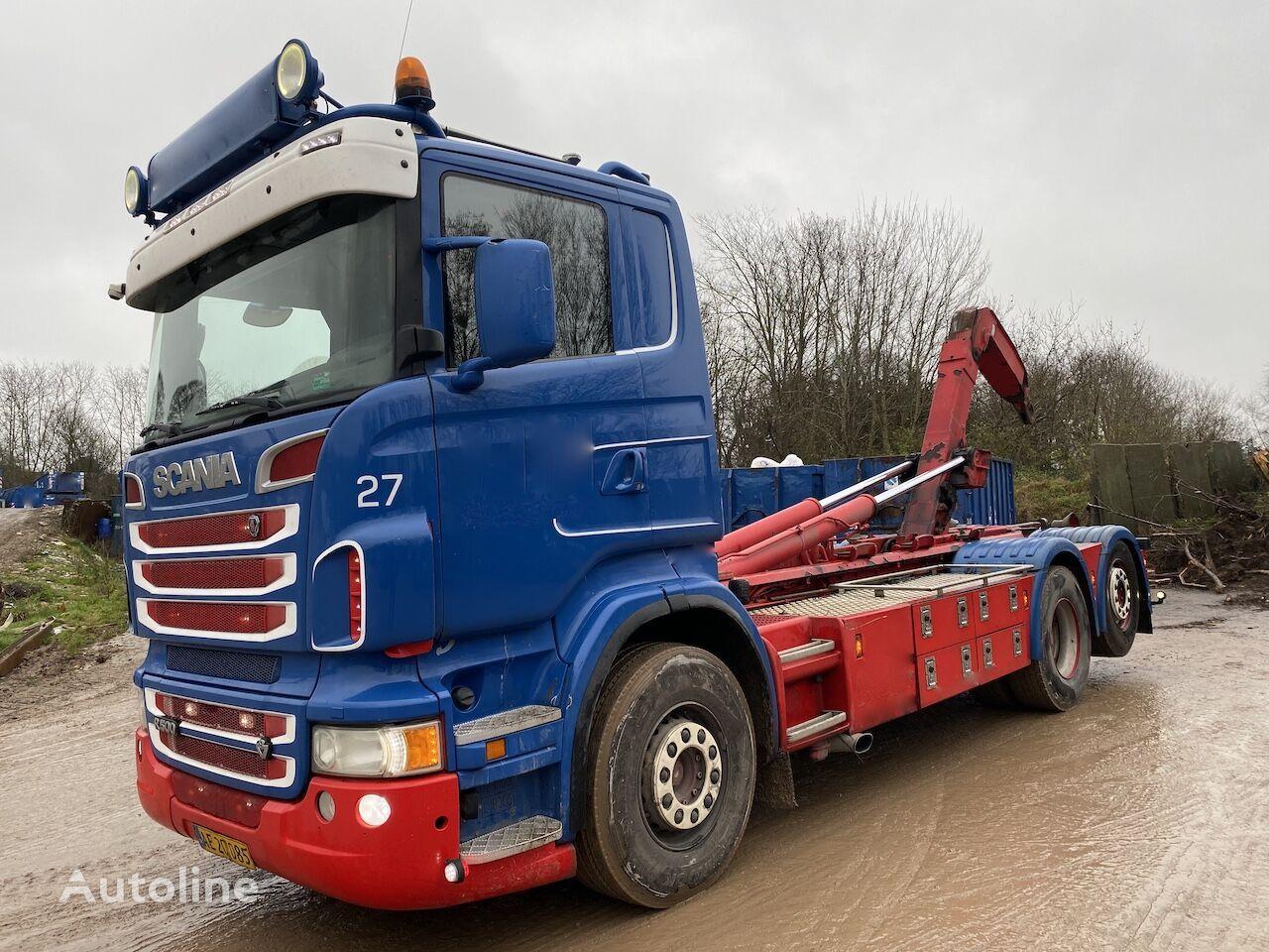 SCANIA R500 LB6X2*4B camión con gancho