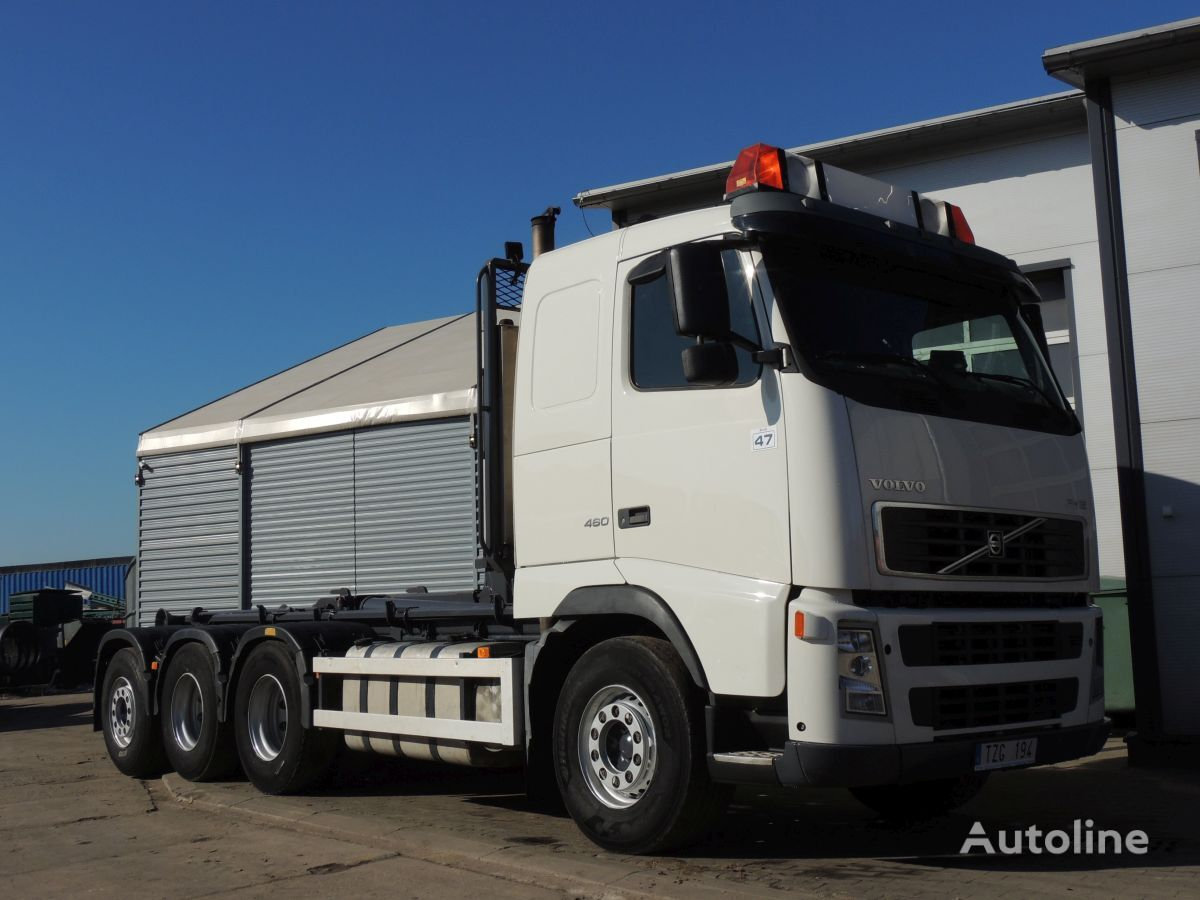 VOLVO FH 12 Hakowiec Hiab, 2003rok, 460KM, 8x4 camión con gancho