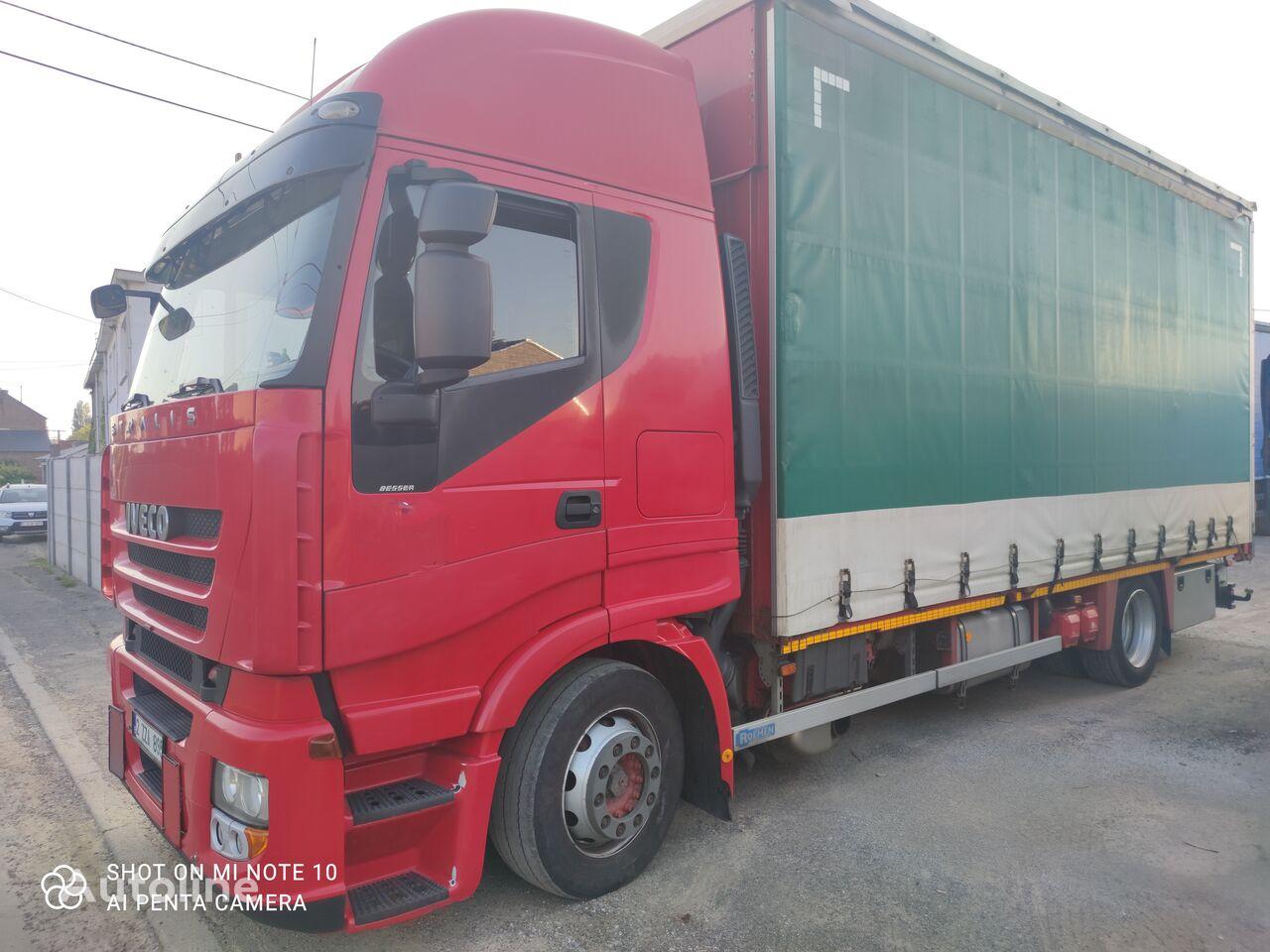 IVECO STRALIS  420  ////MANUEL/////2013///// camión con lona corredera