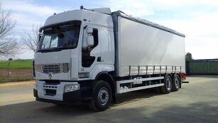 RENAULT PREMIUM 450 DXI camión con lona corredera