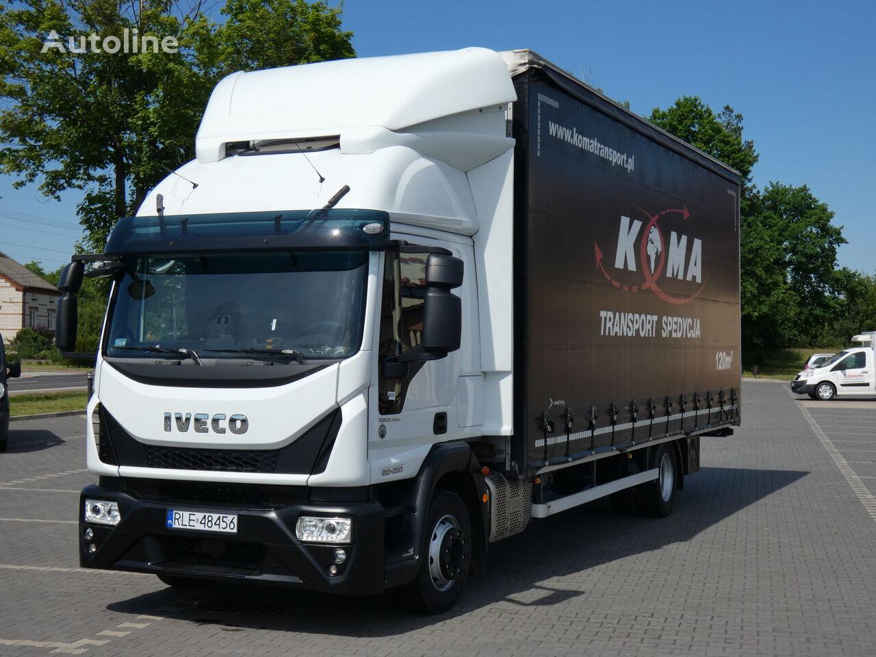 IVECO EuroCargo  camión con lona corredera