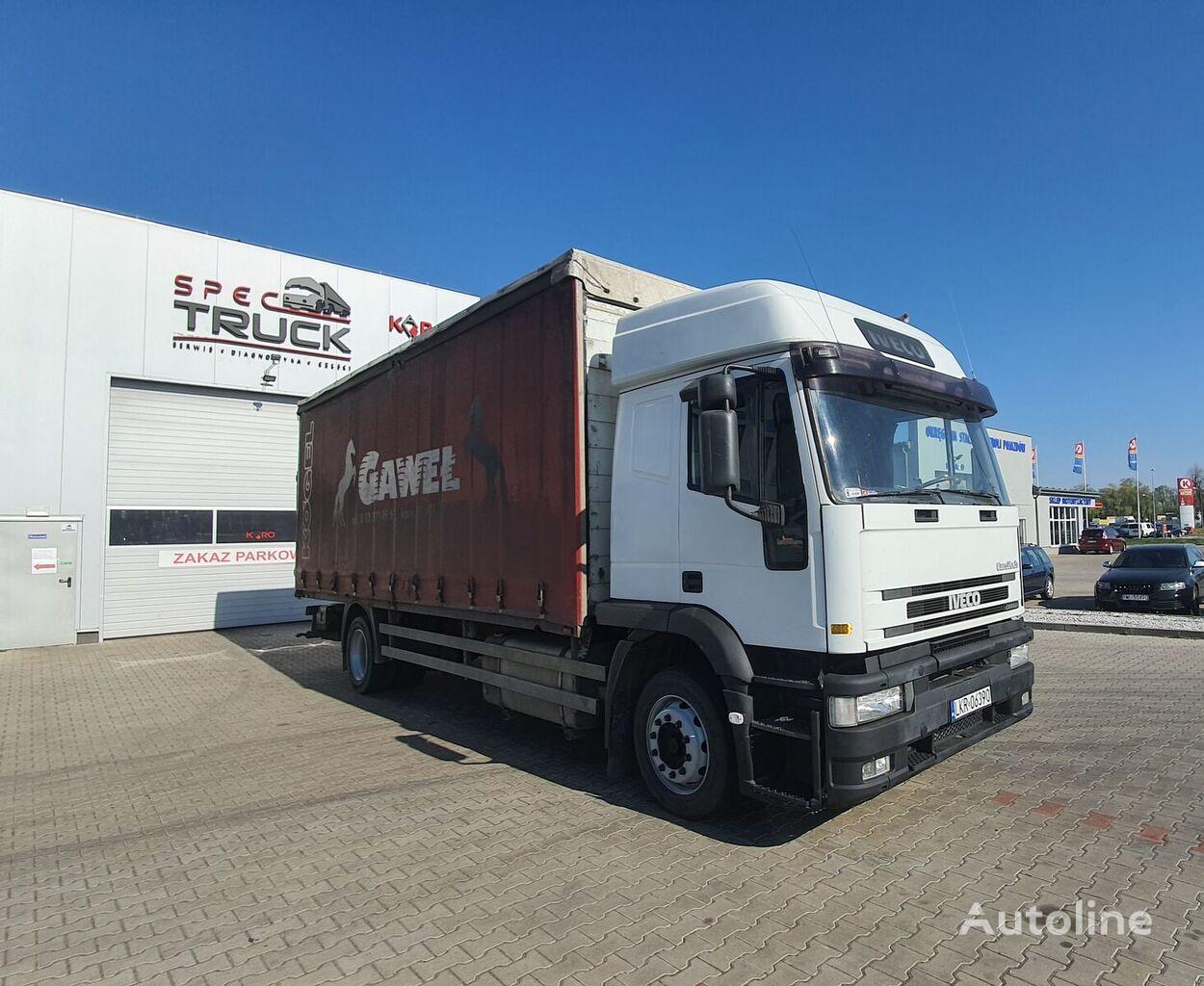 IVECO Eurotech 190.310 CURSOR, Manual, Steel /Air, EURO 2-M  camión con lona corredera