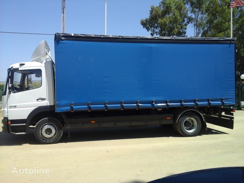 MERCEDES-BENZ ATEGO 12 18 camión con lona corredera