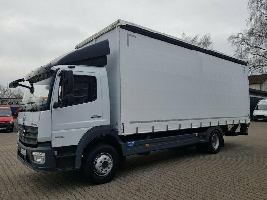 MERCEDES-BENZ Atego 1630L  camión con lona corredera