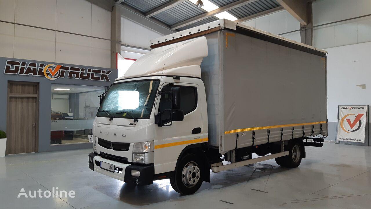 Mitsubishi Fuso 9C18 camión con lona corredera
