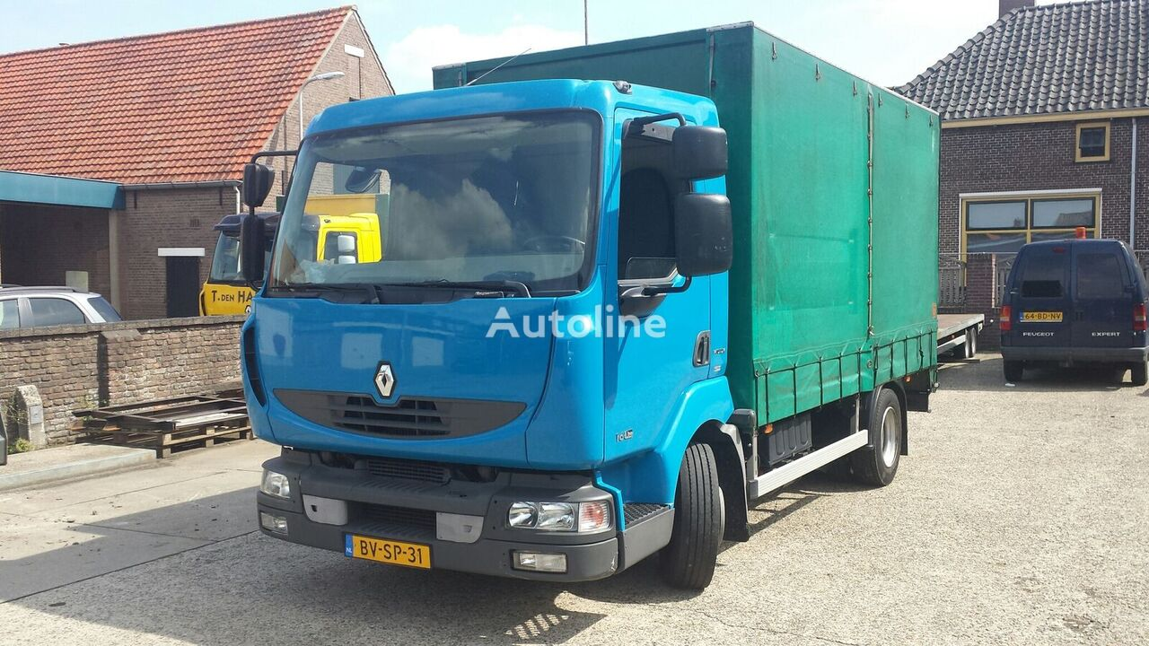 RENAULT Midlum 160-08 Euro4 camión con lona corredera