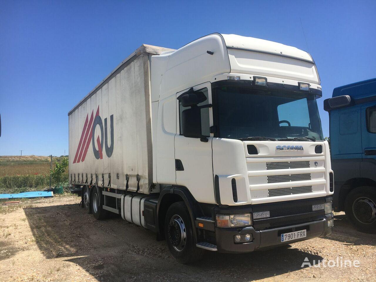SCANIA 420. TAUTLINER 20 PALETS  camión con lona corredera