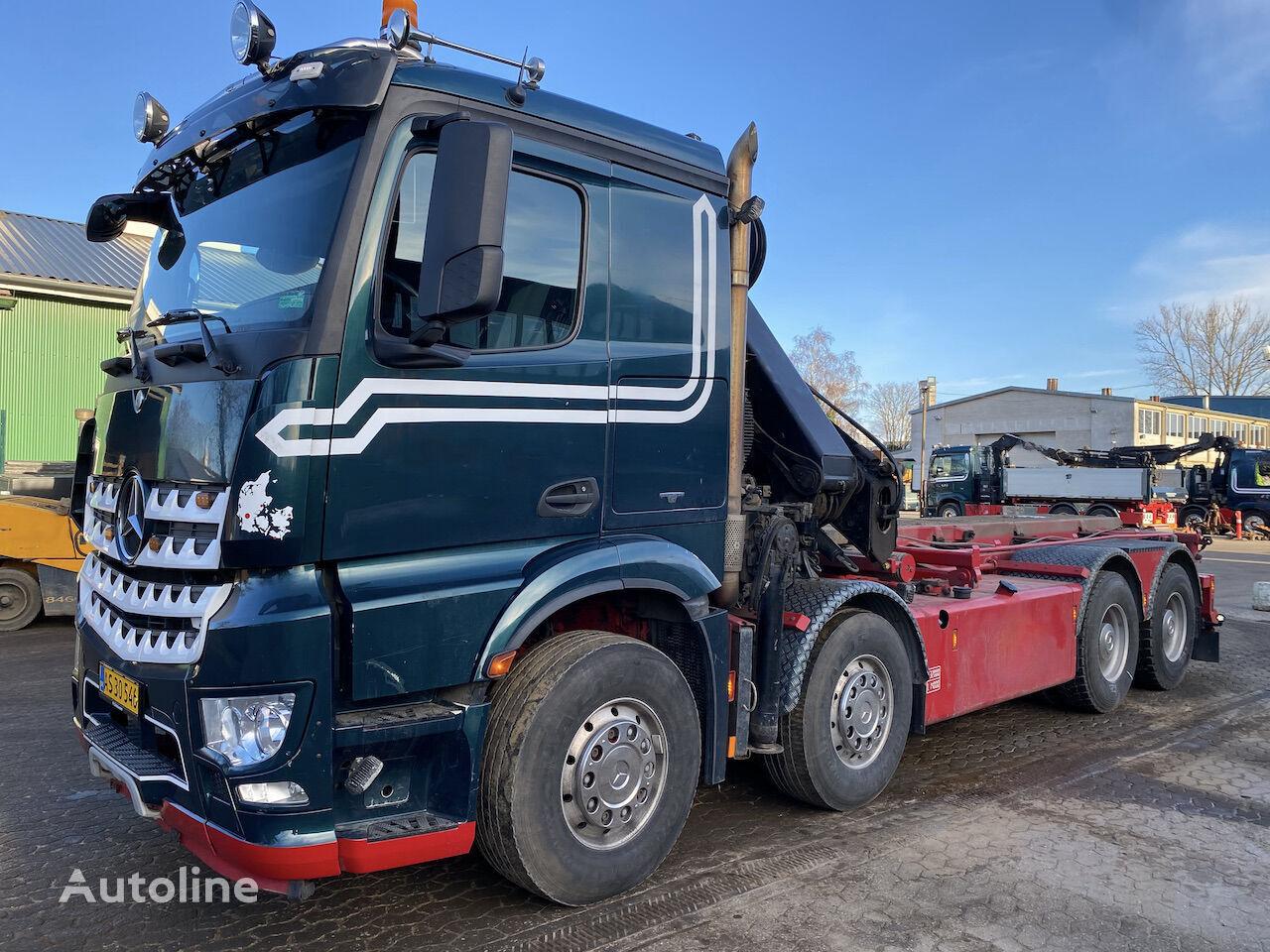 MERCEDES-BENZ Actros 3251 camión con sistema de cables