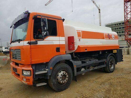MAN TGM 18.240 ADR-Tankwagen, Heizöl / Diesel, ROHR camión de combustible