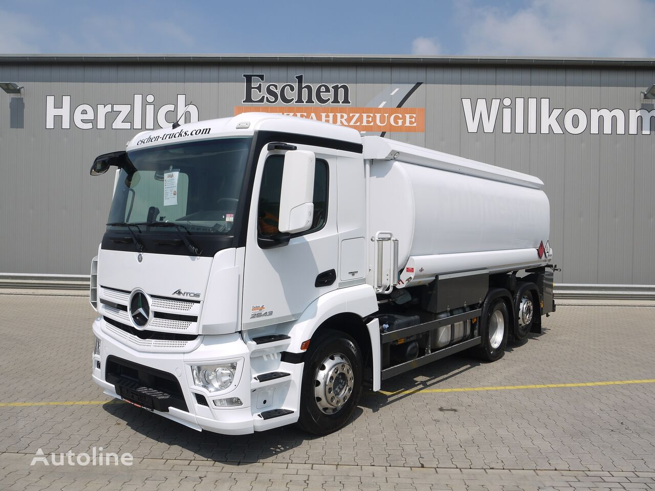 MERCEDES-BENZ Antos 2543, 6x2, Esterer A 3,  Obj.-Nr.: 0267/21 camión de combustible