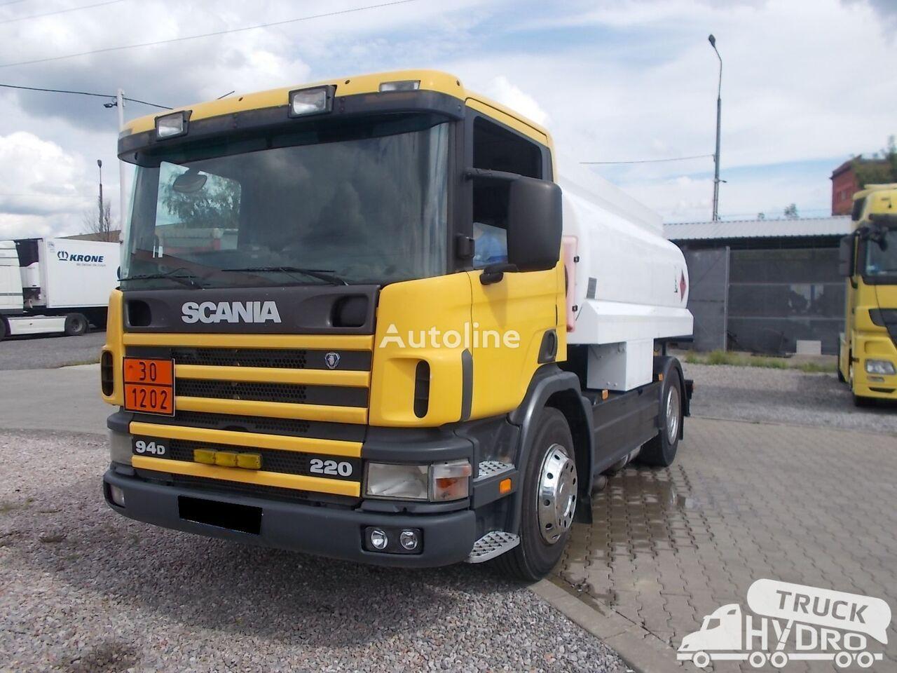 SCANIA P 94 - STAN BARDZO DOBRY !! camión de combustible