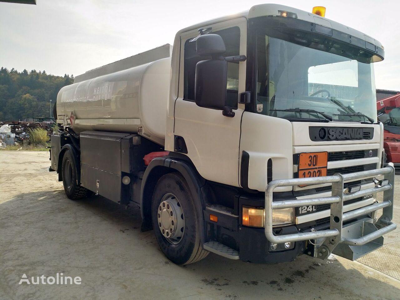 SCANIA P124 360 camión de combustible