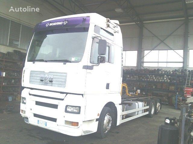 MAN TGA 26.410 XXL camión de contenedores