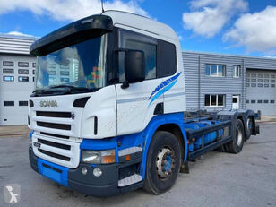 SCANIA P420 6X2 camión de contenedores