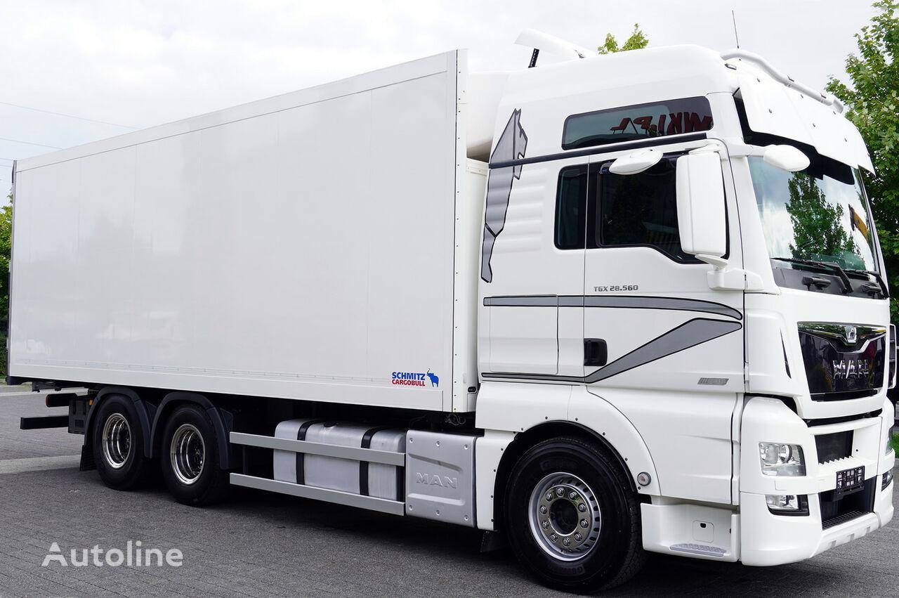 MAN Man TGX 28.560 BL 6X2 Euro 6 / SCHMITZ REFRIGERATOR 18 PAL camión frigorífico