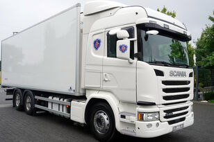 SCANIA G490, Meat hooks , 19 EPAL  camión frigorífico