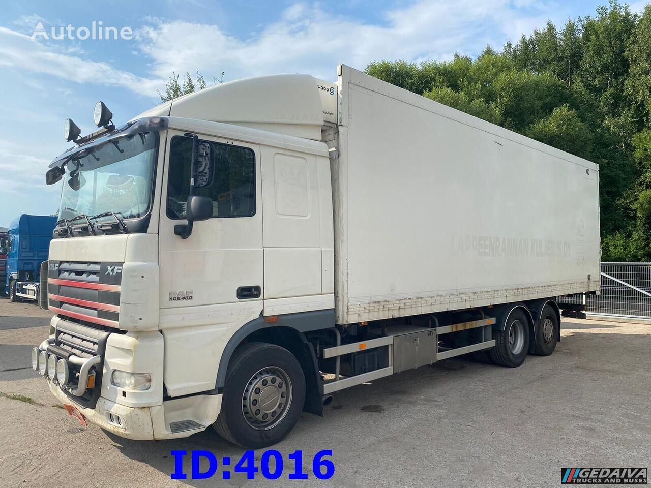 DAF XF105.460 6x2  camión frigorífico