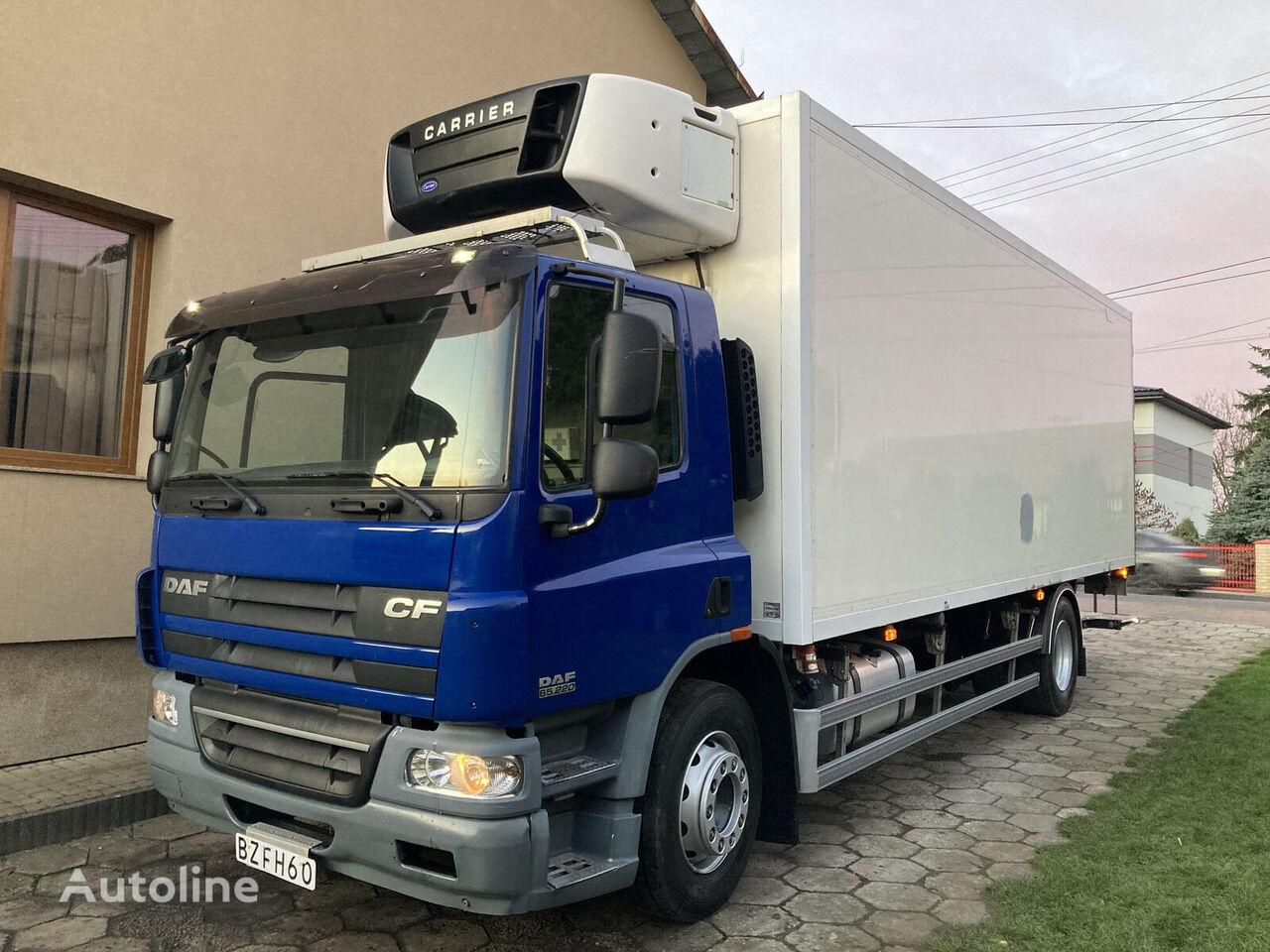 DAF cf 65 220 19000kg carrier supra 950 euro 5 drzwi-winda-270-0 camión frigorífico