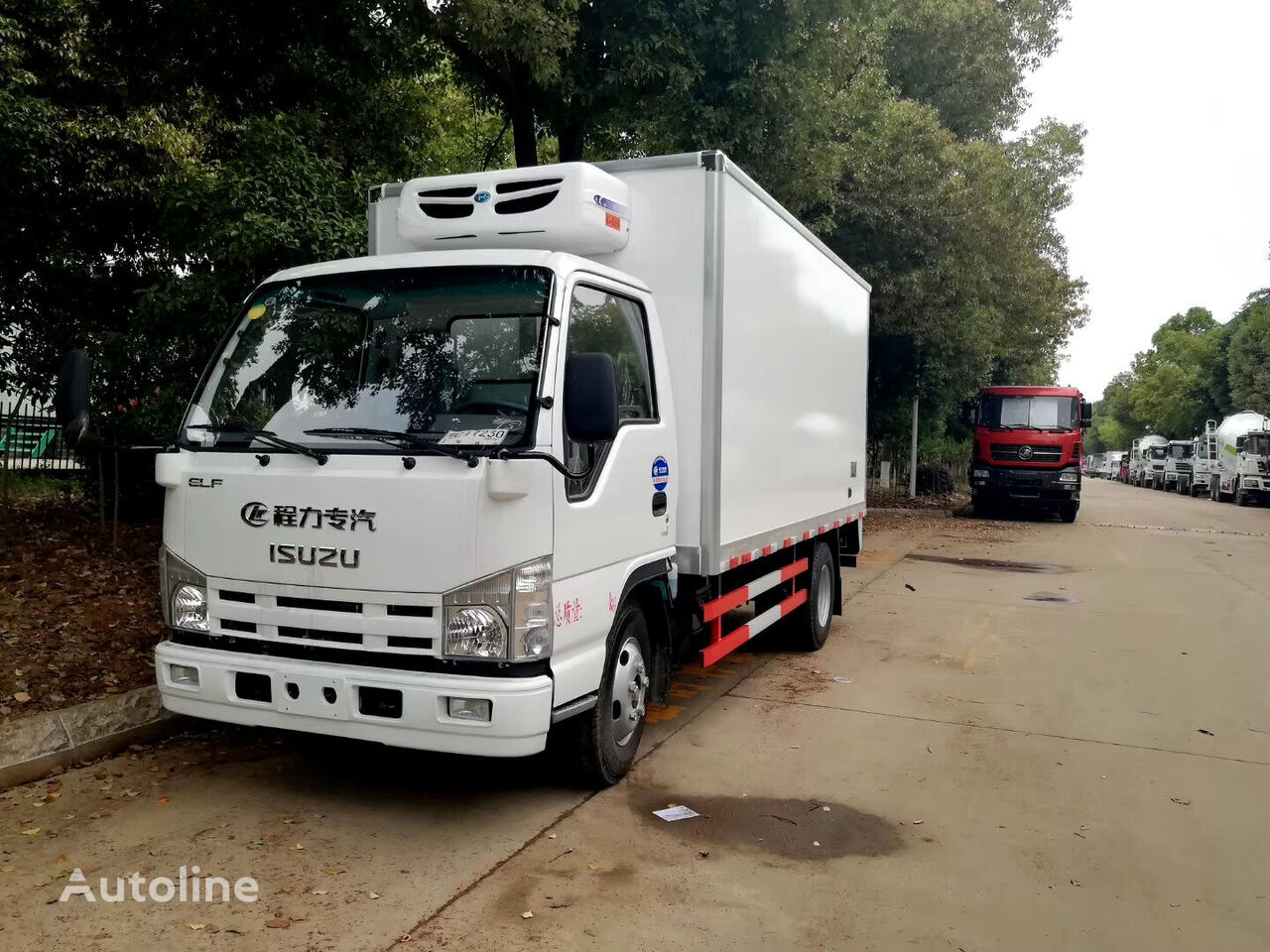 ISUZU CLW5040XLCQ5 camión frigorífico nuevo