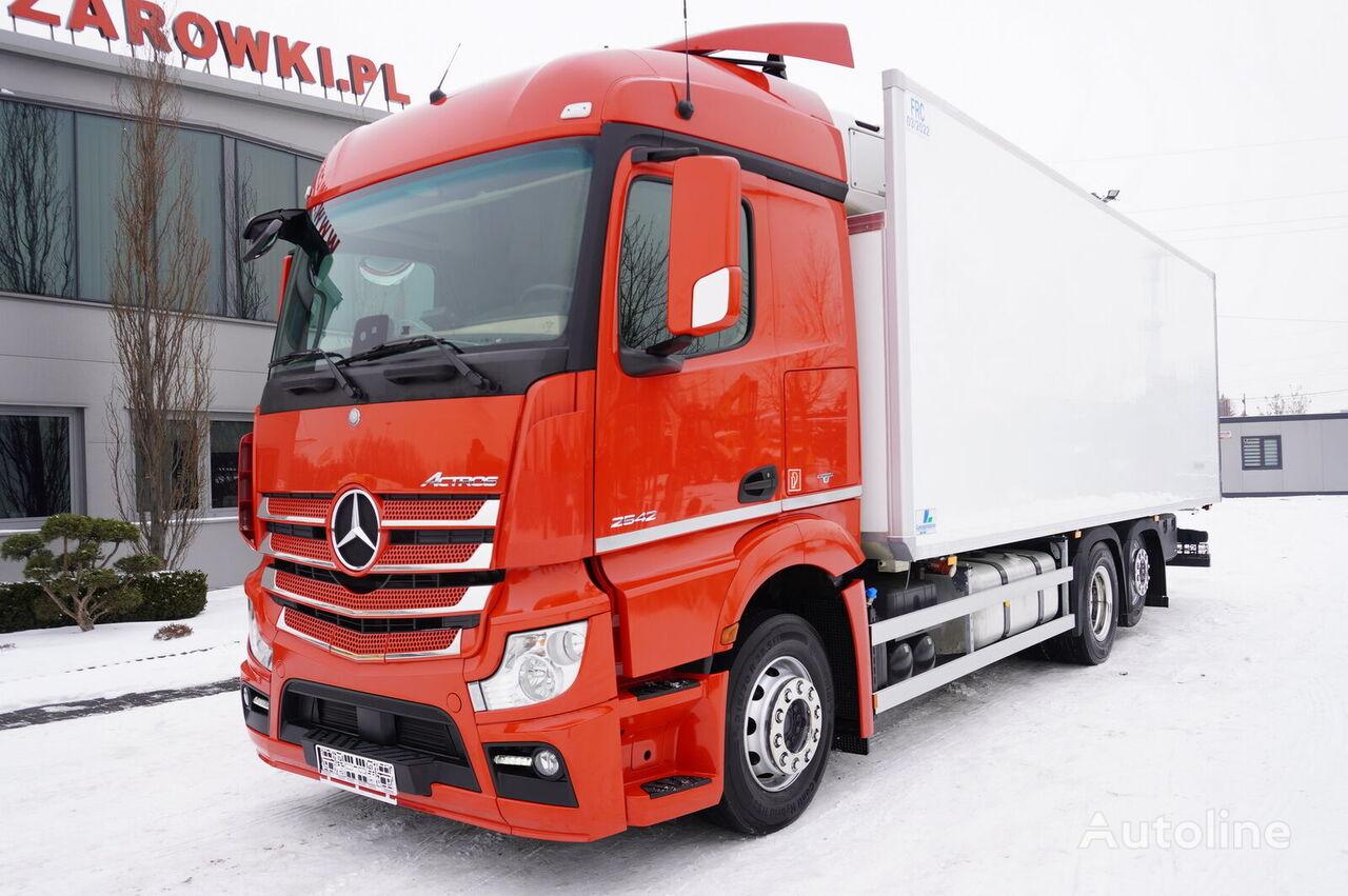 MERCEDES-BENZ Actros 2542 , E6 , 6x2 , 19 EPAL , lift axle , StreamSpace  camión frigorífico