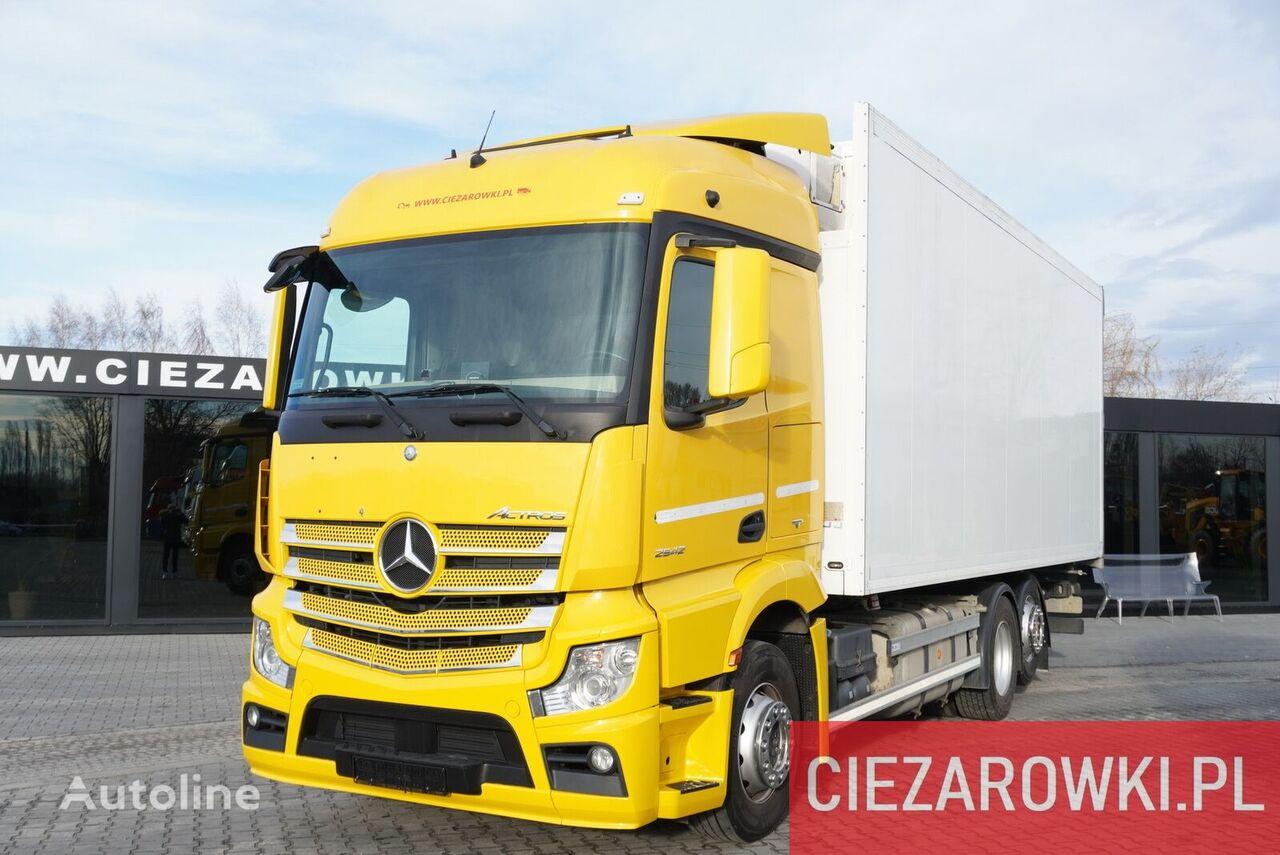 MERCEDES-BENZ Actros 2542 , E6 , 6x2 , Schmitz 18 EPAL , height 2,6m , retarde camión frigorífico