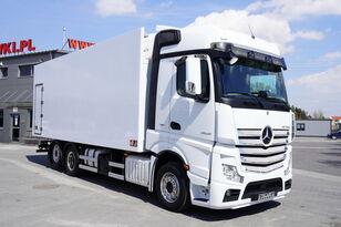 MERCEDES-BENZ Actros 2545 , E6 , 6X2 , 18 EPAL , heigh 2,6m , side door , reta camión frigorífico