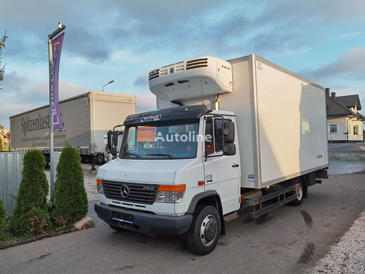 MERCEDES-BENZ Vario 816 D camión frigorífico