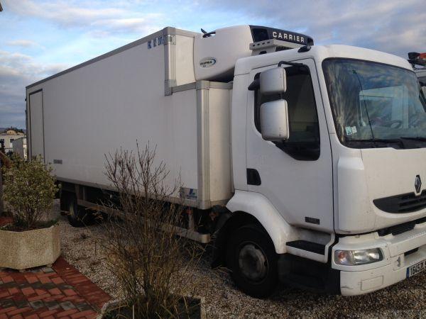 RENAULT Midlum 180.12 cf camión frigorífico