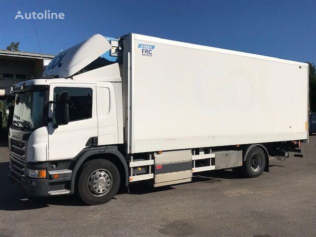SCANIA P270 CNG camión frigorífico