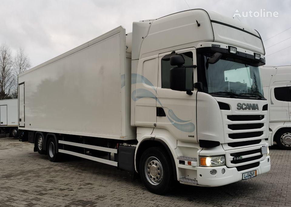 SCANIA R440 z Niemiec ASO camión frigorífico