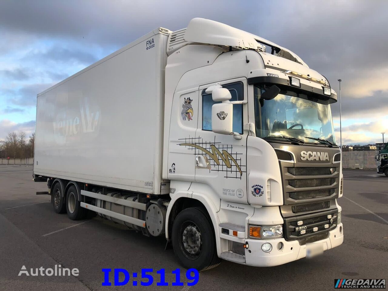 SCANIA R500 6x2  Euro5 camión frigorífico