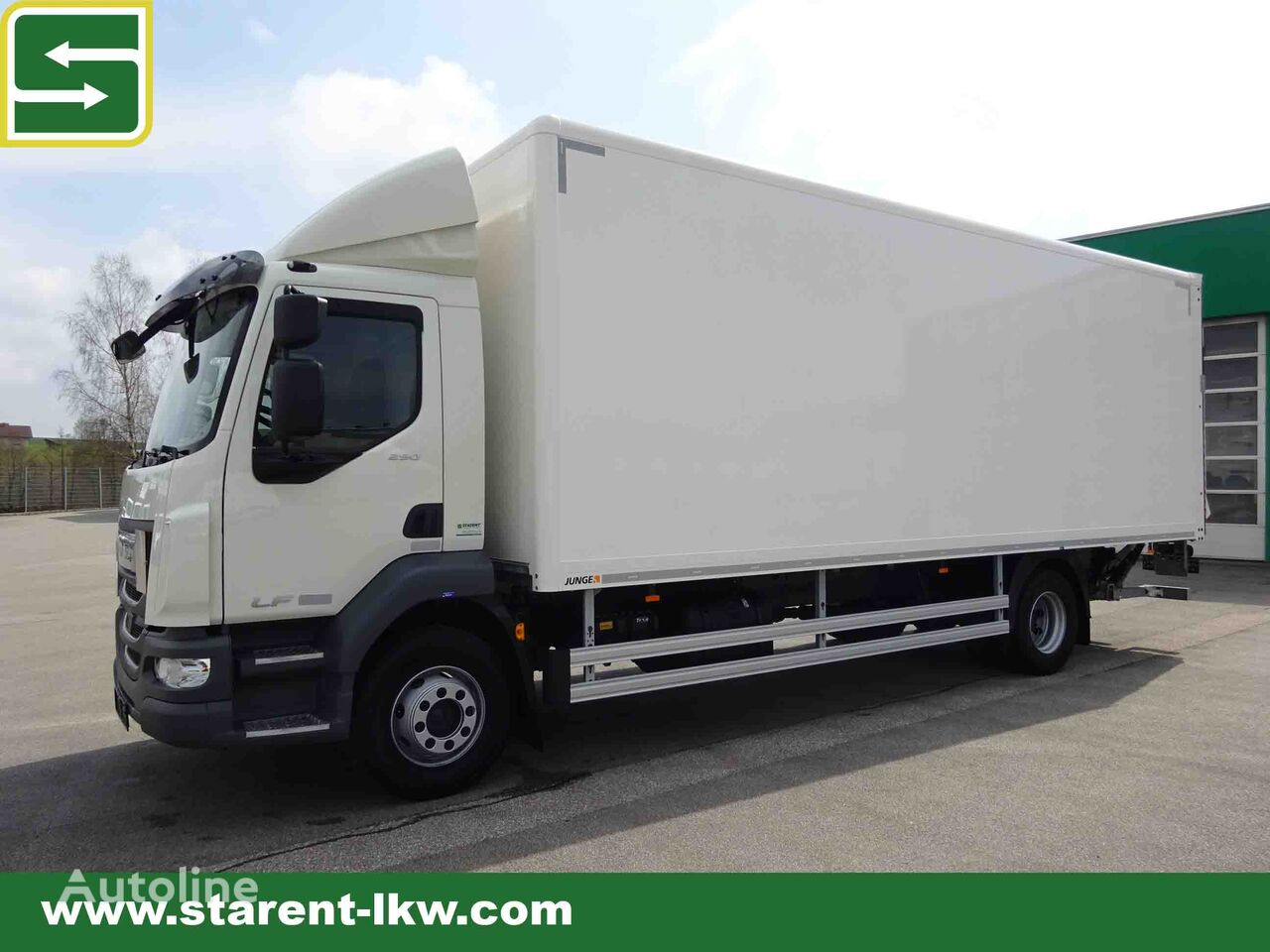 DAF LF 290 Kofferaufbau, Ladebordwand, ACC camión furgón nuevo