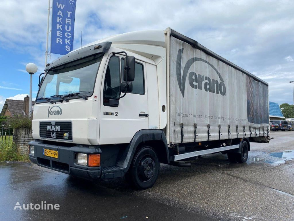 MAN 8.153 MANUAL HOLLAND TRUCK NEW NEW NEW camión furgón