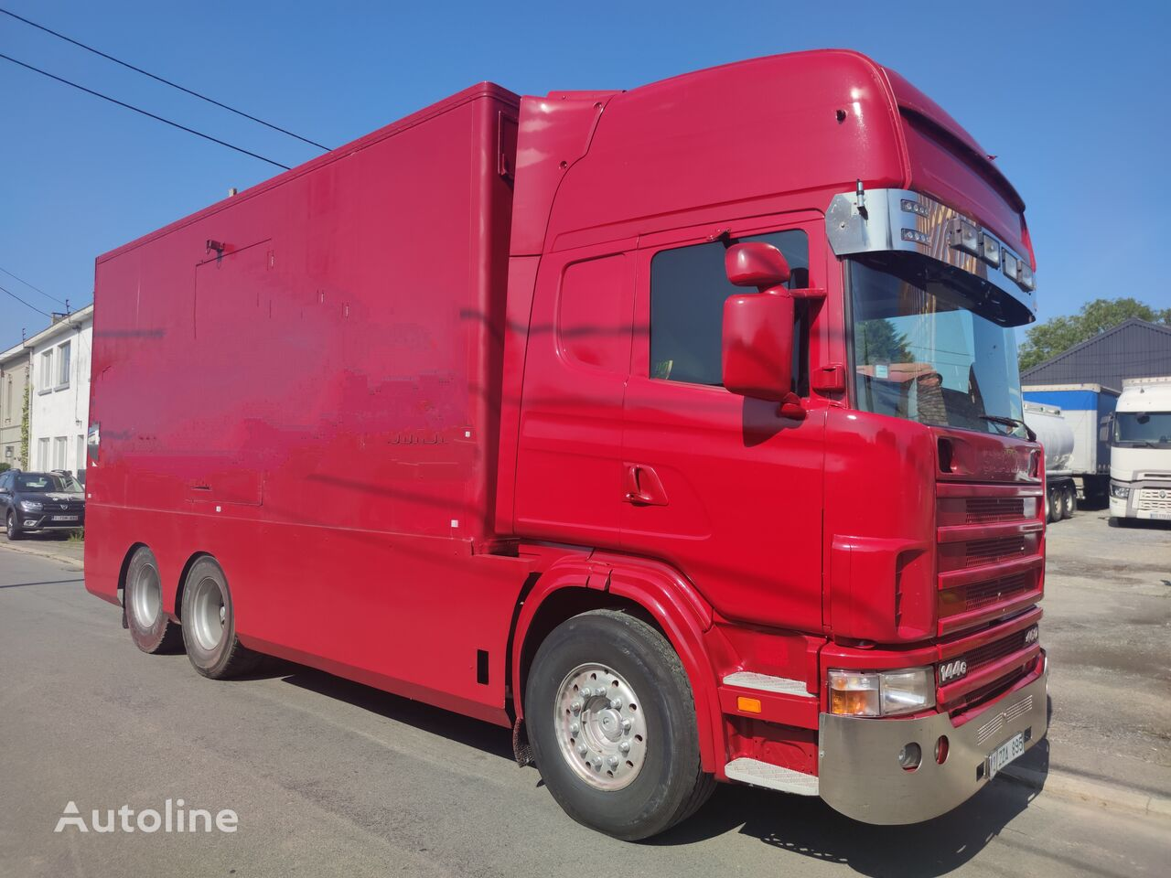 SCANIA 144 G  460  V8   6x2  ///MANUEL//RETARDER///FRENCH TRUCK/// camión furgón