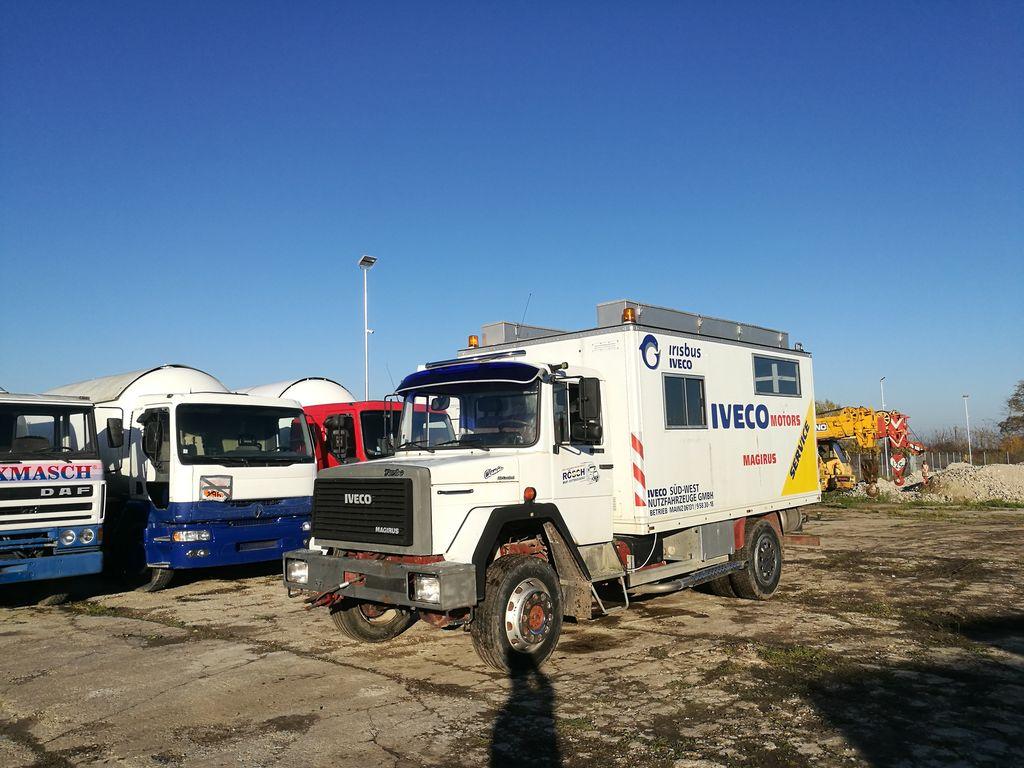 camión furgón IVECO 120E16 4x4
