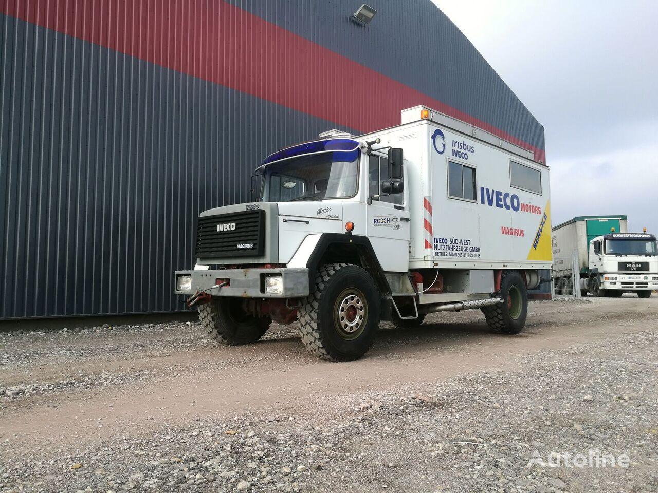 camión furgón IVECO 120E16 4x4 Expedition truck