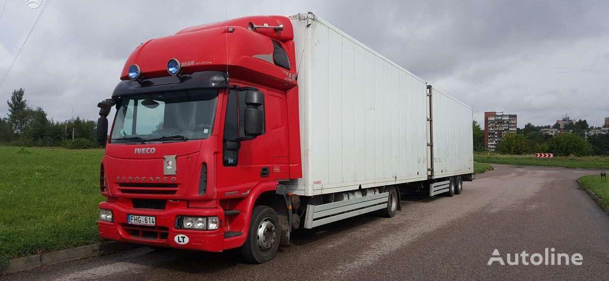 IVECO 120E28 camión furgón