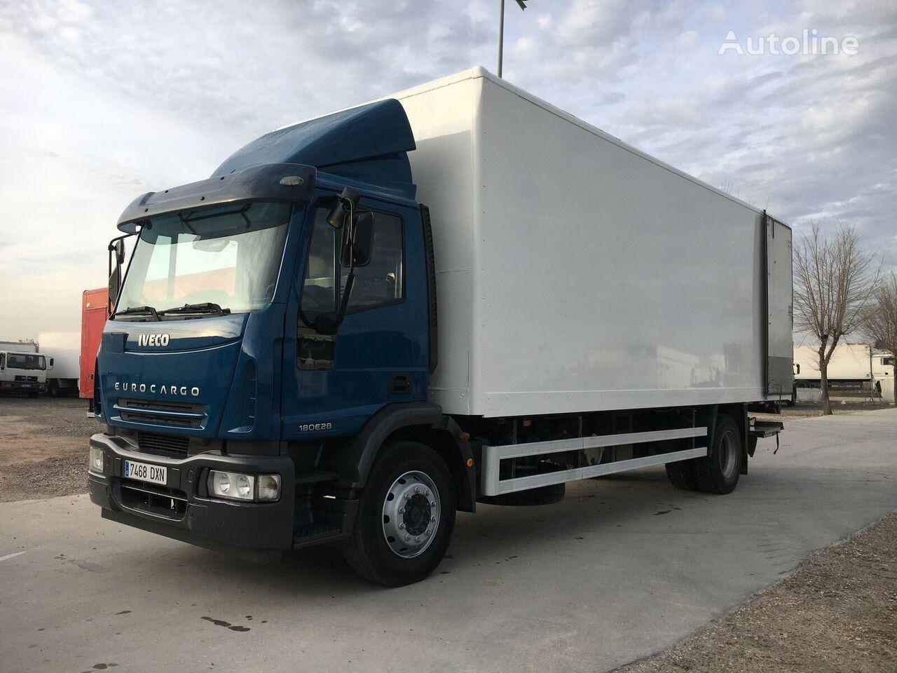 IVECO 280. FURGON 17 PALETS camión furgón