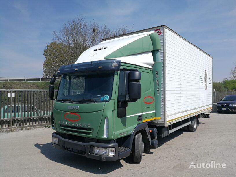 camión furgón IVECO 75E18P EURO 5, FURGONE O CENTINATO 6,5 MT, CABINA LUNGA
