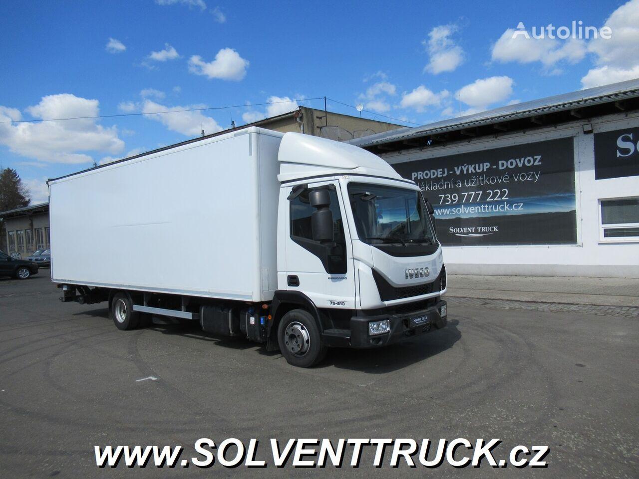 IVECO Eurocargo ML75E21 Euro 6 camión furgón