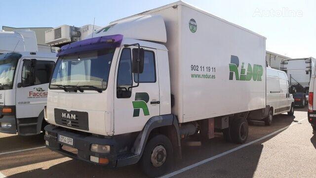 MAN 8145 LC camión furgón