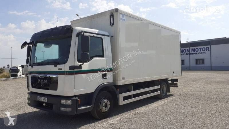 MAN TGL camión furgón